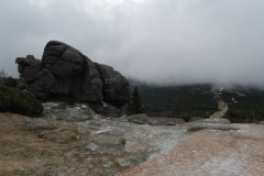 skały Karkonoszach