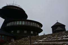 Stacja meteorologiczna na Śnieżce
