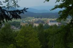 widok na Krzeszów