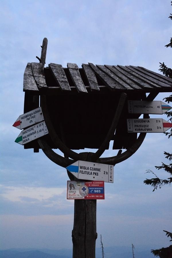 oznakowanie polskich szlaków