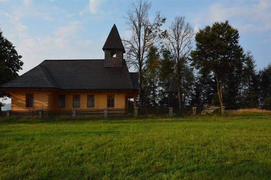 kościół drewniany na Stecówce
