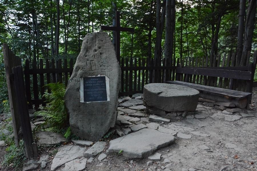 kamień ewangelików w Ustroniu
