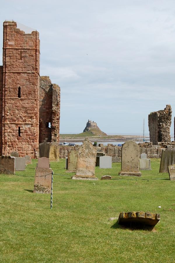 opactwo Lindisfarne, Northumberland, Anglia