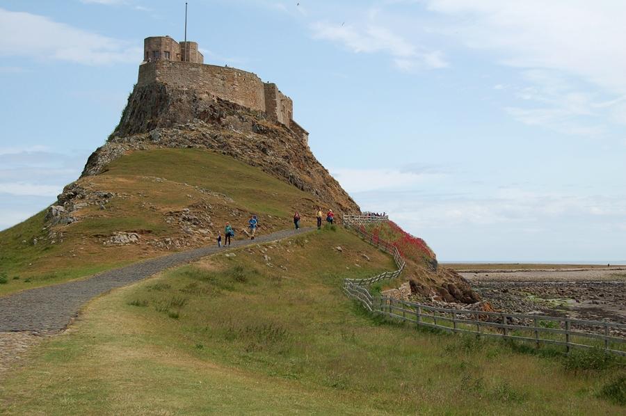 wyspa Lindisfarne i zamek