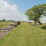 rzymskie mury w Anglii