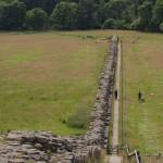 pozostałości muru Hadriana w Wielkiej Brytanii