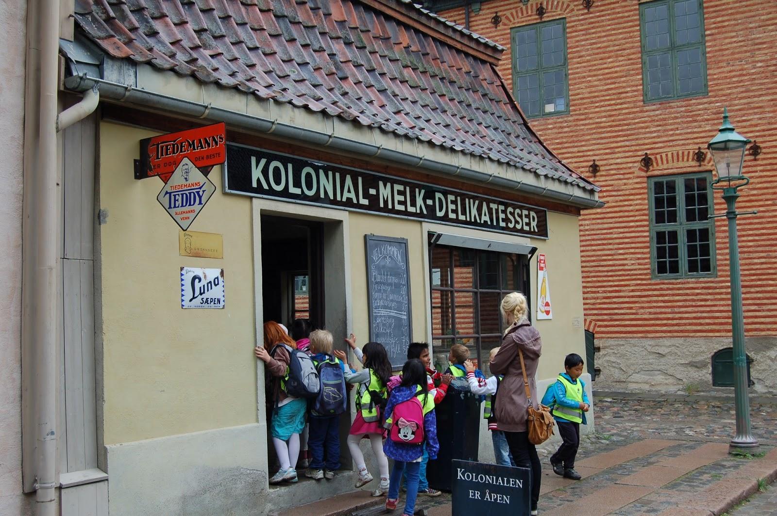skansen w Oslo, christiania, Norwegia