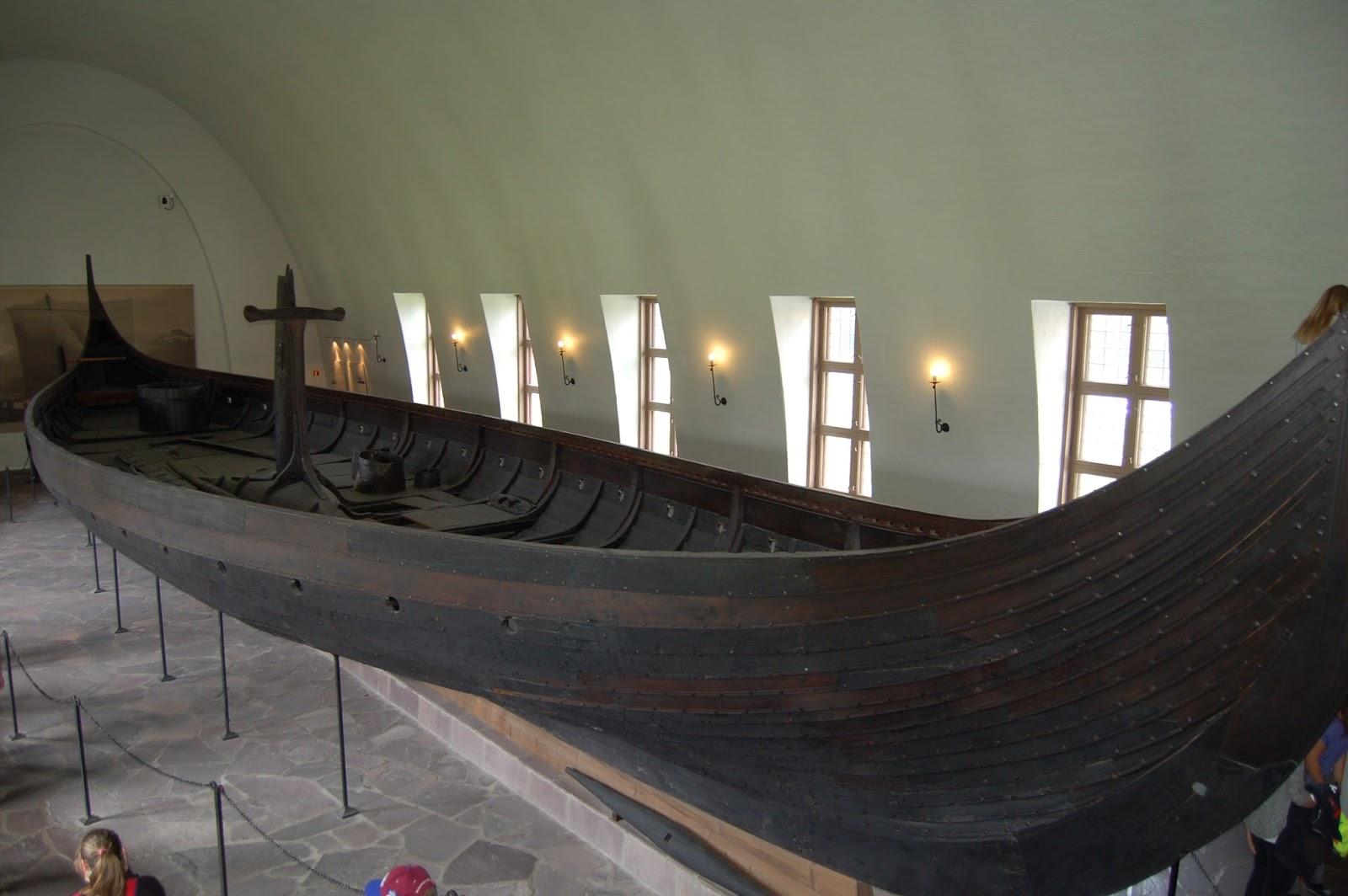 Muzeum Łodzi Wikingów w Oslo, Norwegia, łódź z Gokstad