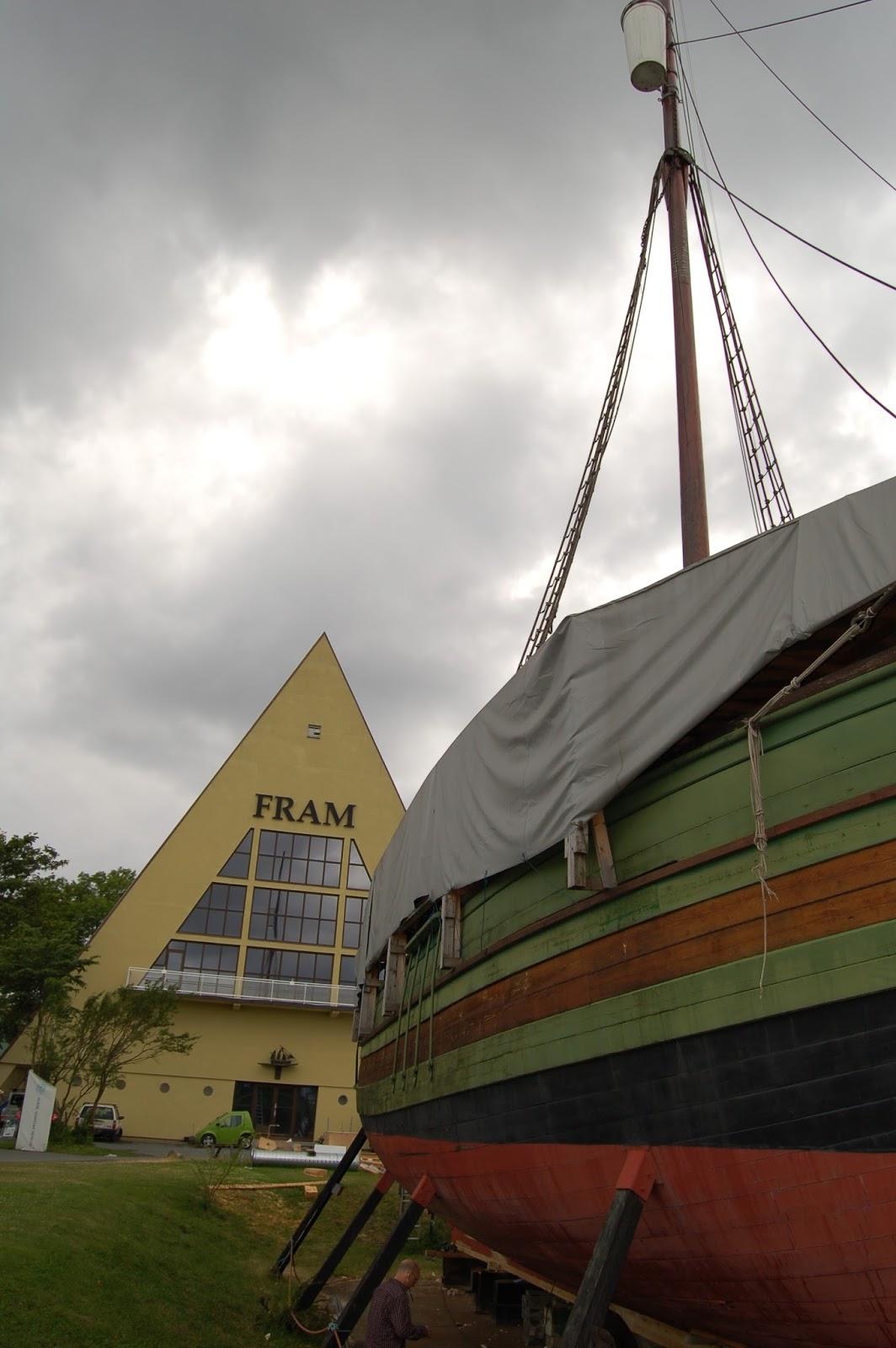 Norwegia, Oslo, Fram, wyprawy polarne