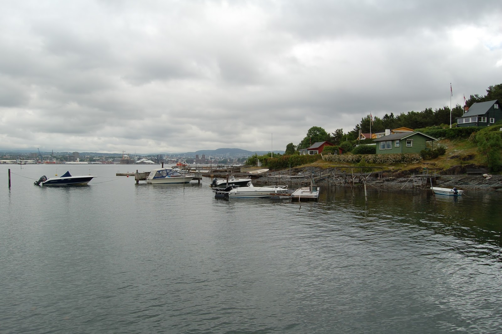 Norwegia, Oslo, fiord