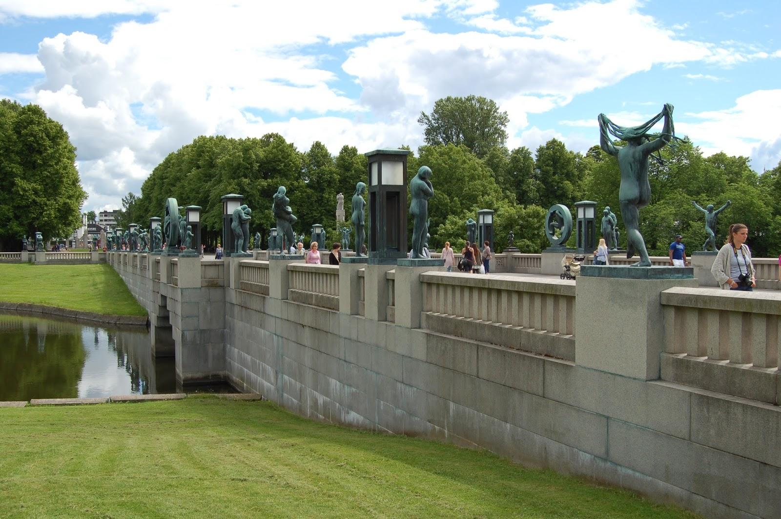 Park Vigelanda, Oslo, Norwegia