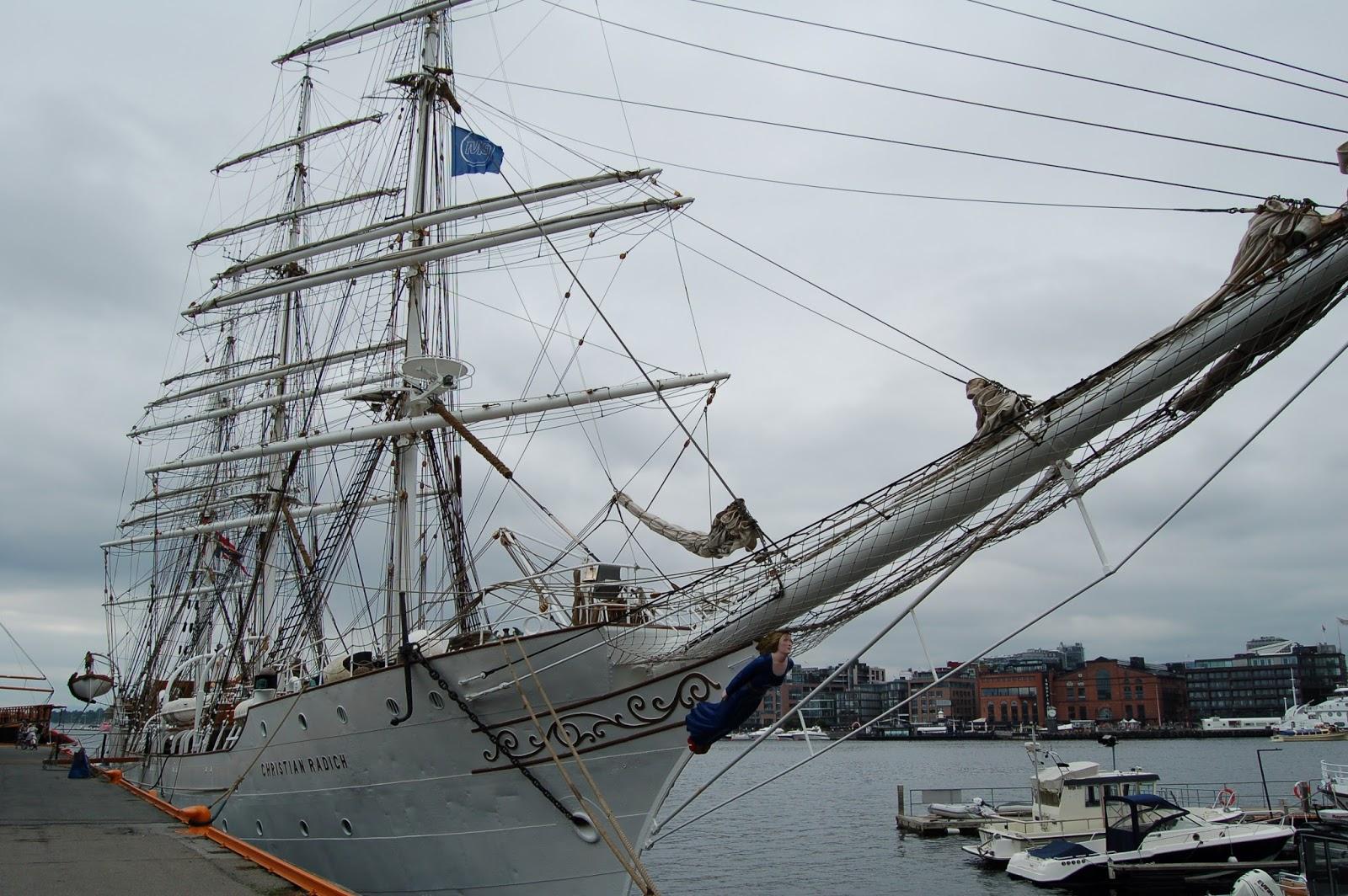 Norwegia, Oslo, fiord, marina