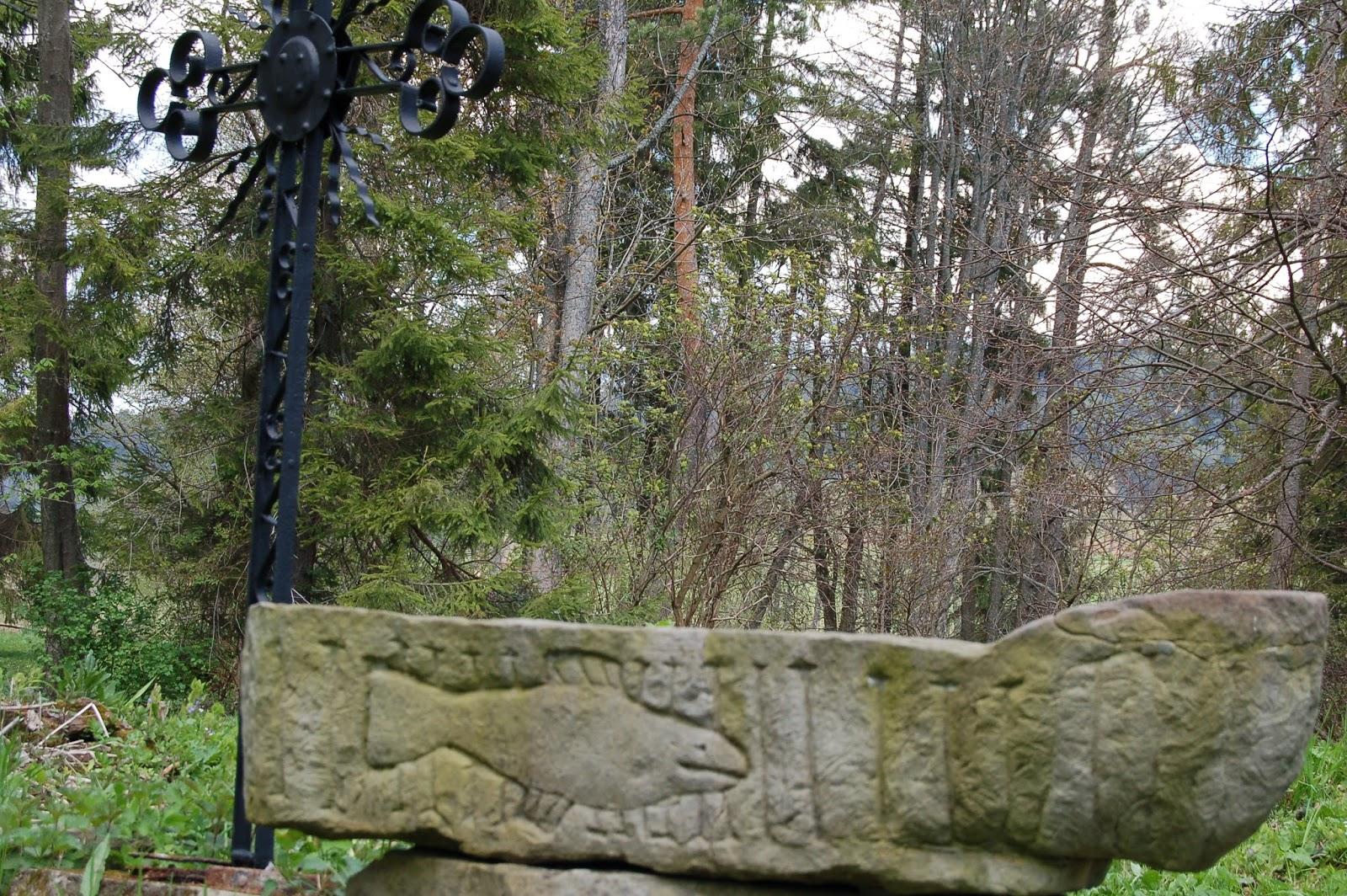 Worek Bieszczadzki, cmentarz w Beniowej, Bieszczady