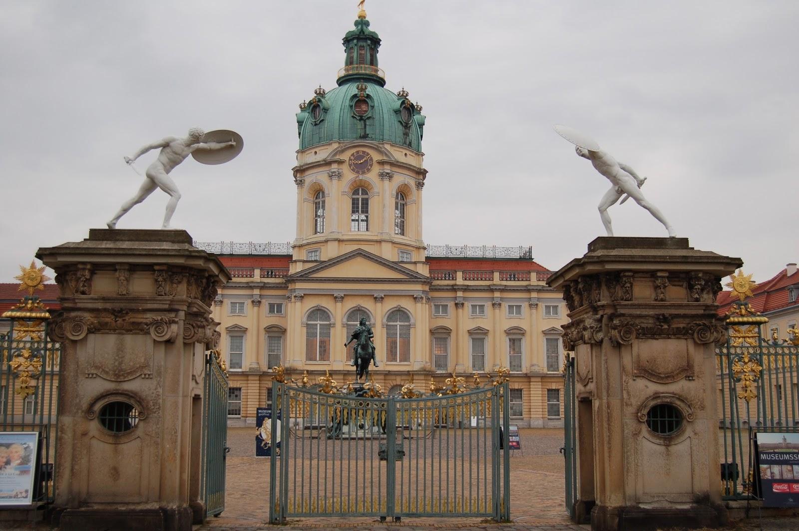 pałac Charlottenburg, Berlin, Niemcy