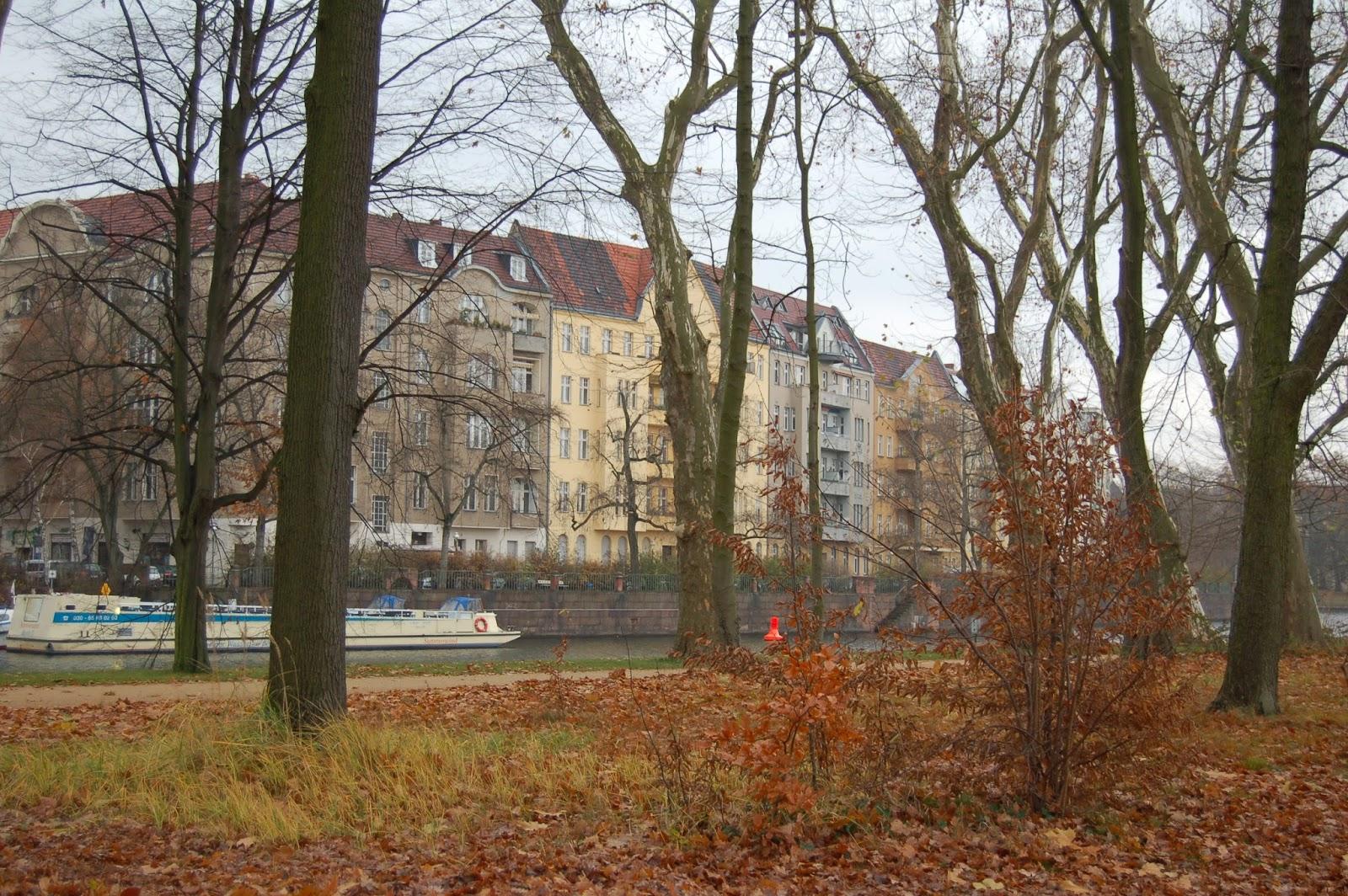 Berlin, rzeka Szprewa