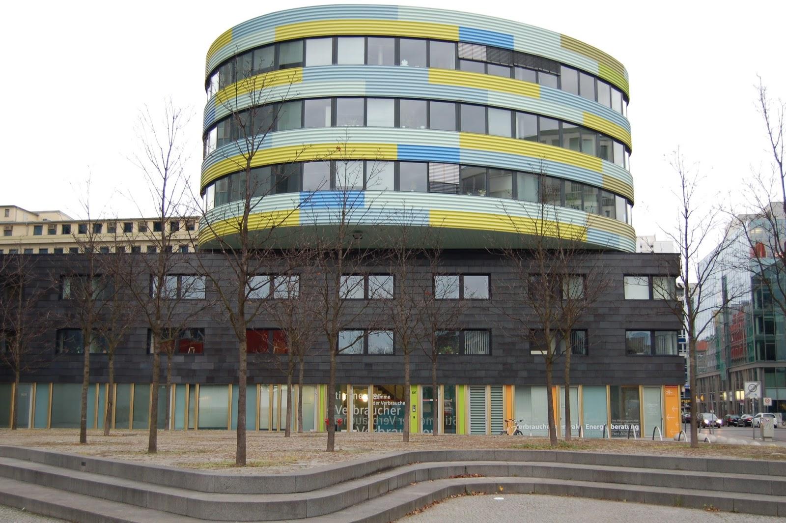 centrum Berlina, architektura współczesna