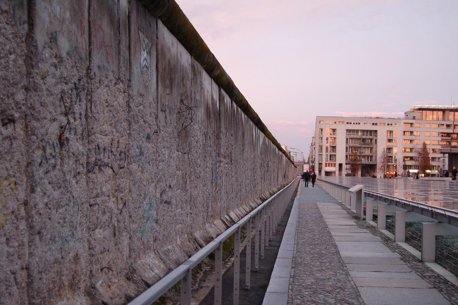 mur berliński, Berlin, pozostałości