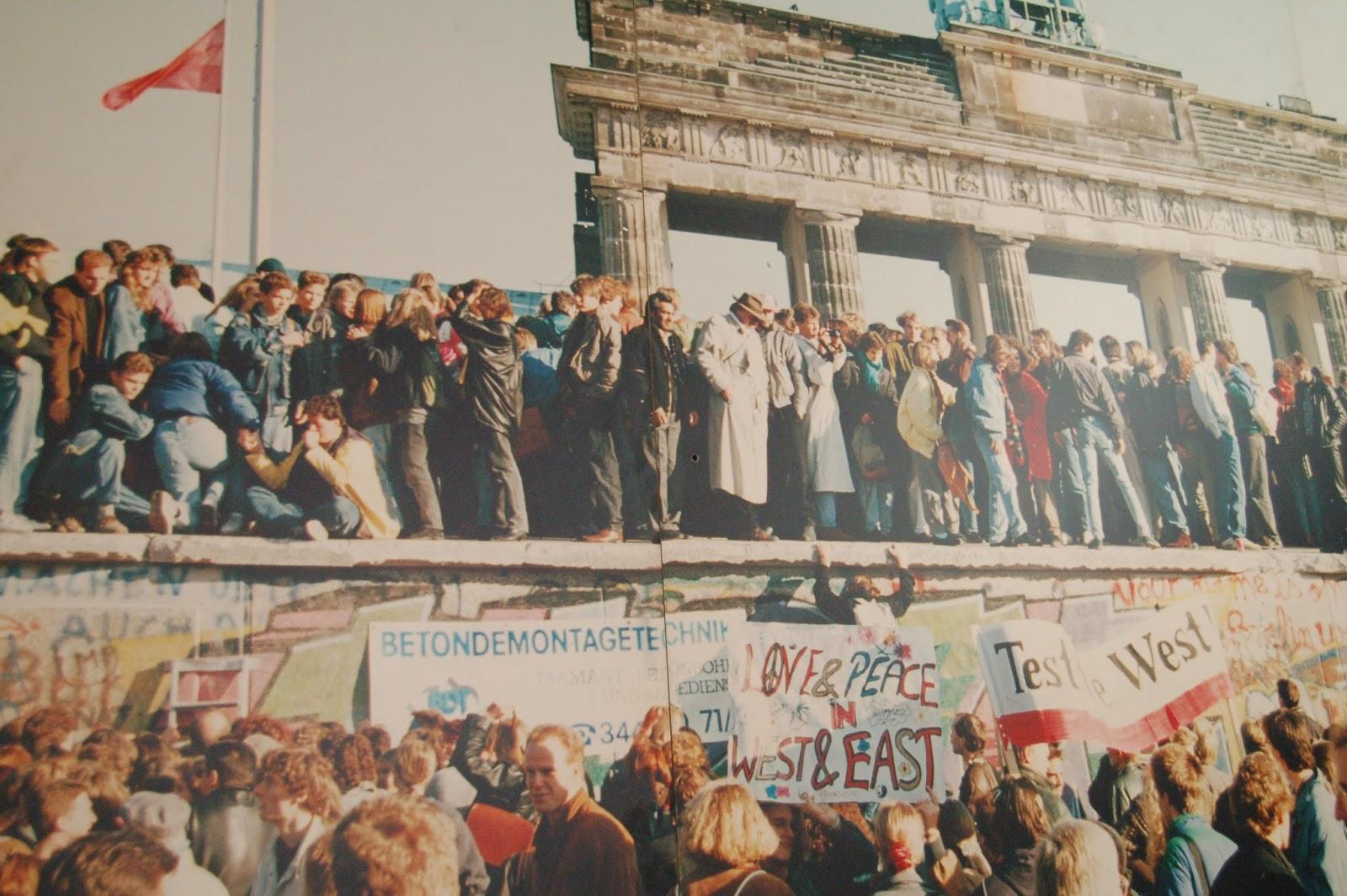 upadek muru berlińskiego, historia Niemiec
