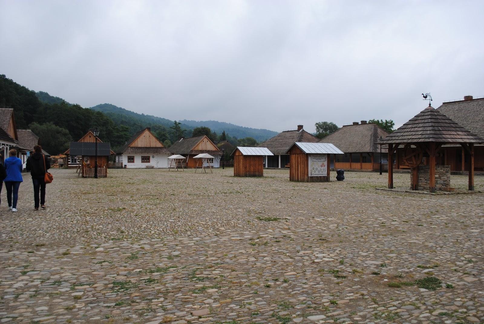 rynek galicyjski, Sanok, skansen