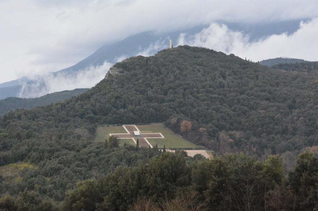 cmentarz Monte Cassino, Włochy