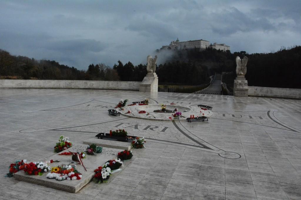 Cmentarz polski, Monte Cassino, Włochy