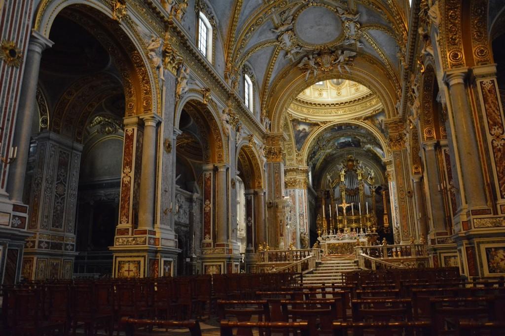 klasztor Monte Cassino Włochy, kośiół