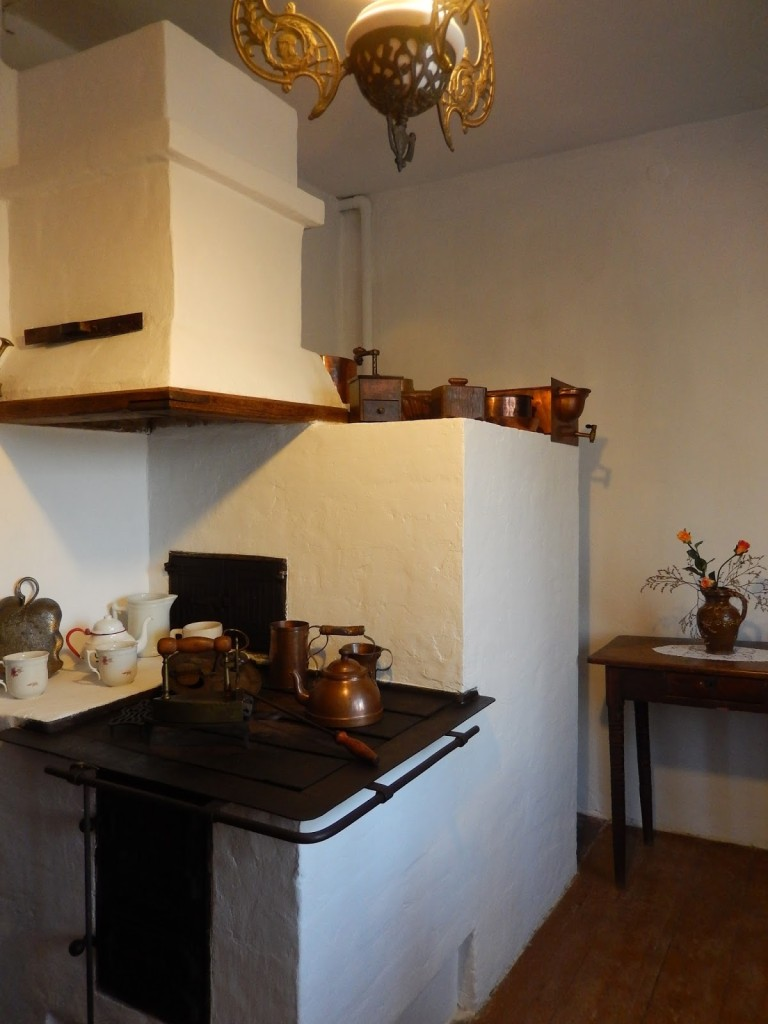 kuchnia, Muzeum Marii Konopnickiej w Żarnowcu, Podkarpackie