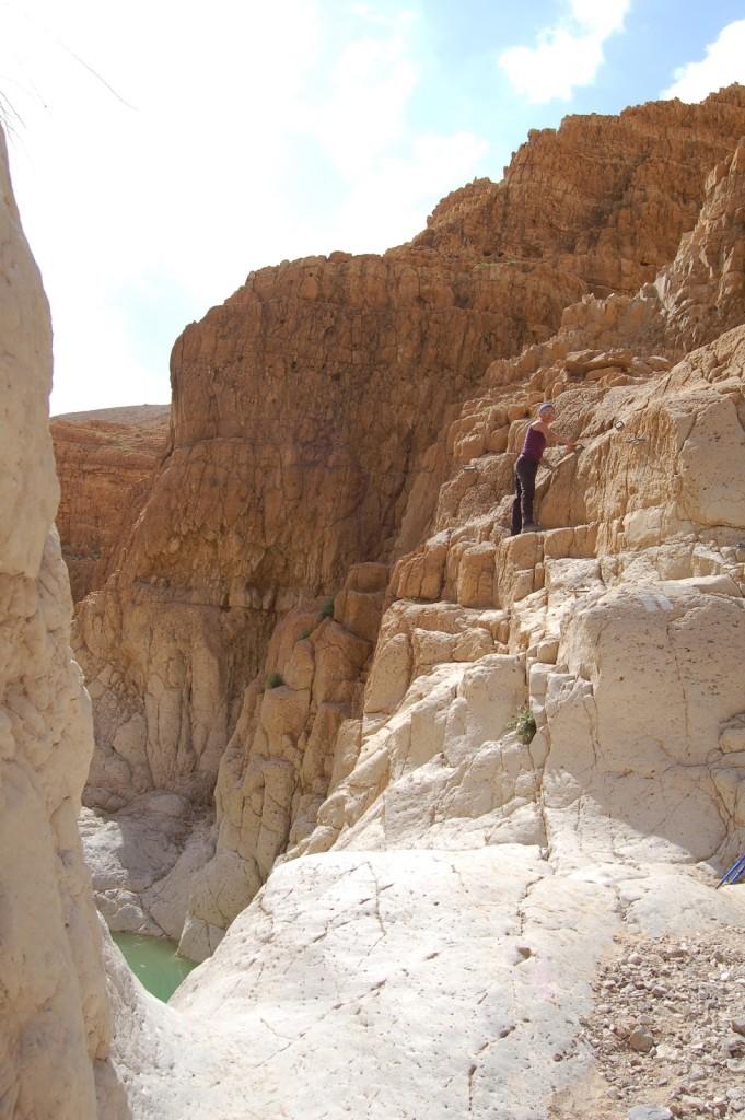 Ein Gedi, Izrael, Morze Martwe, szlaki