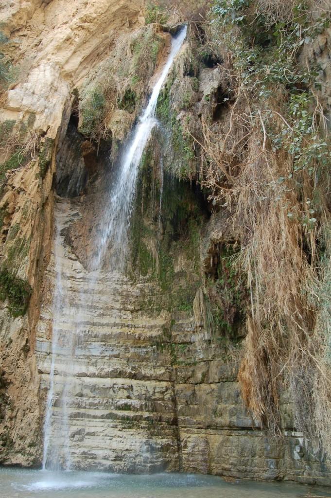 Ein Gedi, Izrael, Morze Martwe, Wodospad Dawida