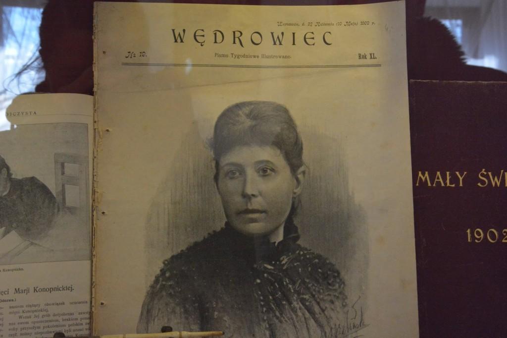 Żarnowiec, Maria Konopnicka