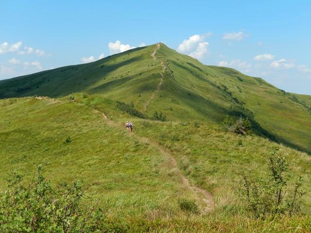 droga na Halicz, Główny Szlak Beskidzki