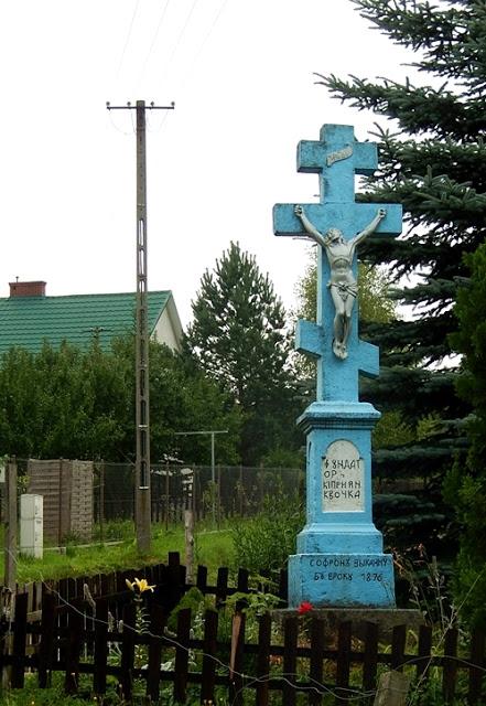 Beskid Niski, kapliczki i krzyże przydrożne