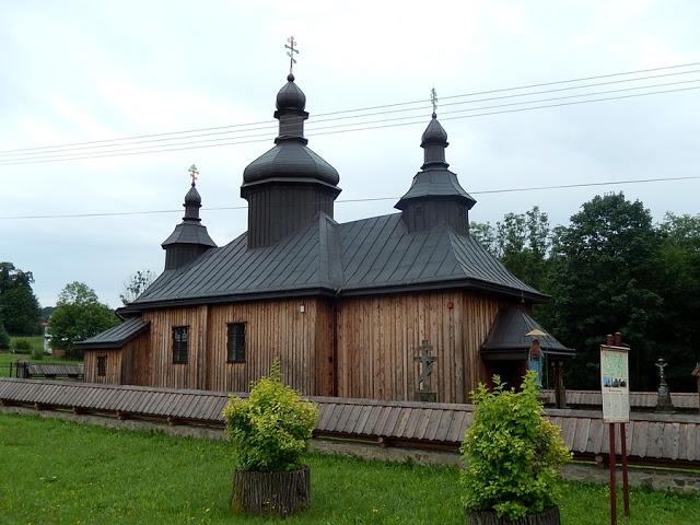 drewniana architektura sakralna łemkowszczyzny, Bartne