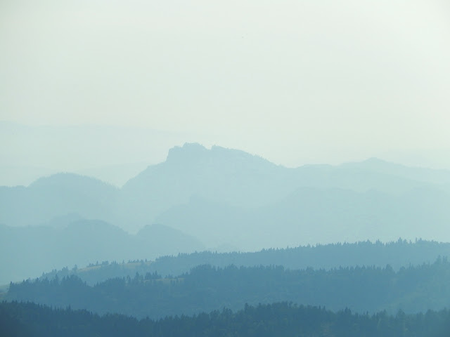 Główny Szlak Beskidzki przez Beskid Sądecki gdzie doliny pełne jezior z mgły …