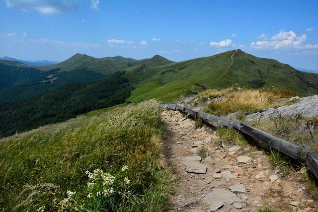 Główny Szlak Beskidzki pierwsze dni na trasie Bieszczady