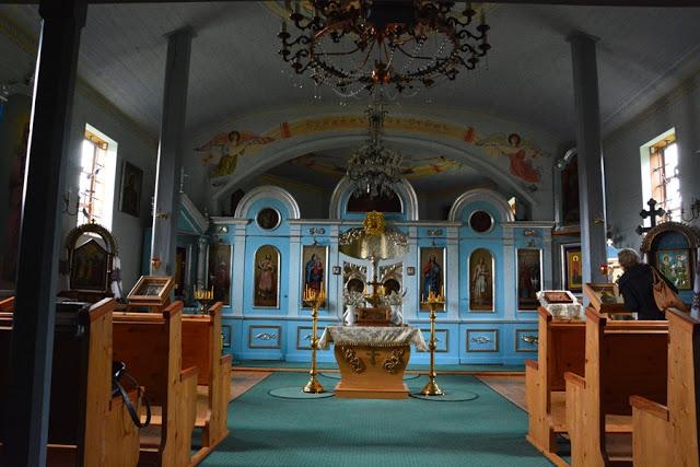 Łemkowie, cerkiew w Bartnem, Beskid Niski