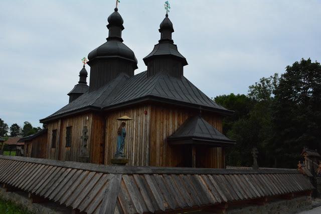 architektura łemkowska, Bartne cerkiew