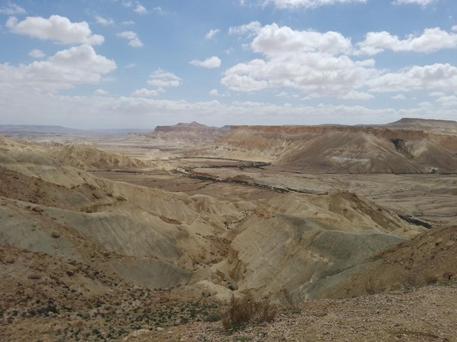 Dolina Zin, pustynia Negew. Ben Gurion