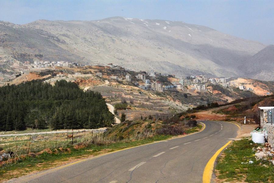 Wzgórza Golan – spod Hermon Szlakiem Wzgórz Golan