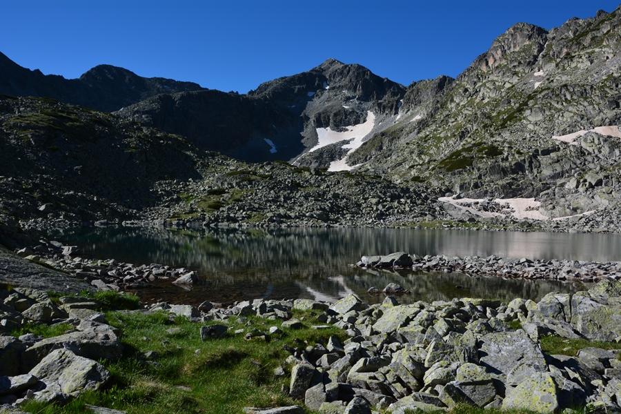 szlak na Musałę jeziora