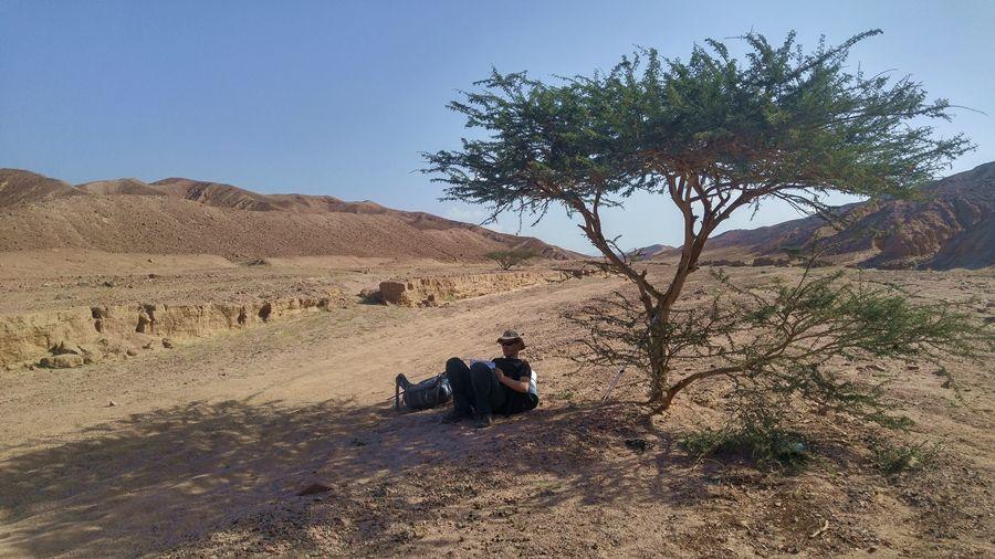 Jordania, góry niedaleko Aqaby