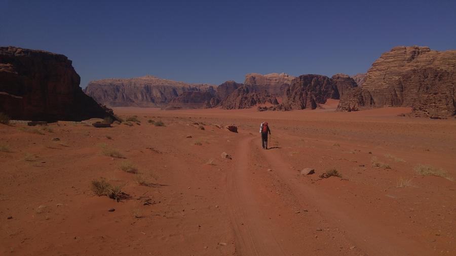 Wadi Rum  w Jordanii beduiński folklor i plany filmowe