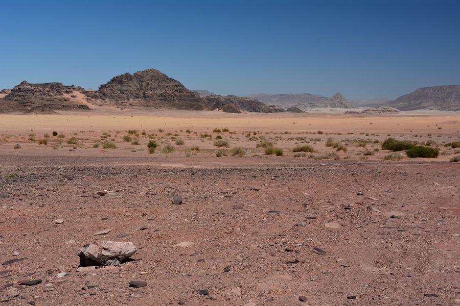 Jordan Trail, szlaki w Jordanii, pustynia