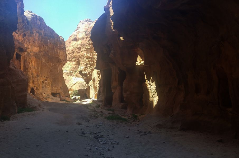 Little Petra, szlak jordański