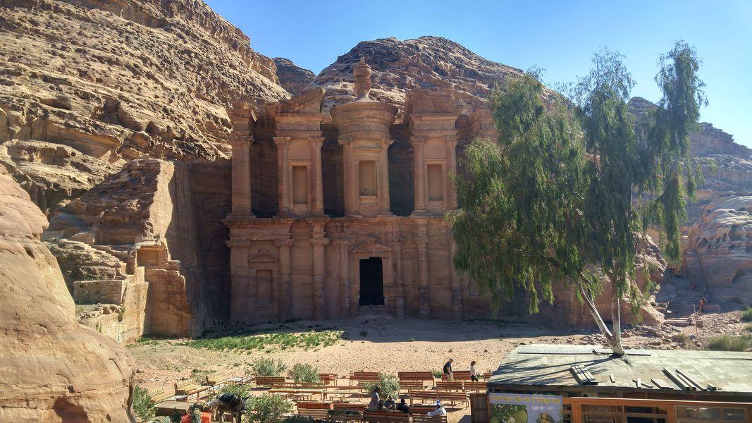 Petra, klasztor