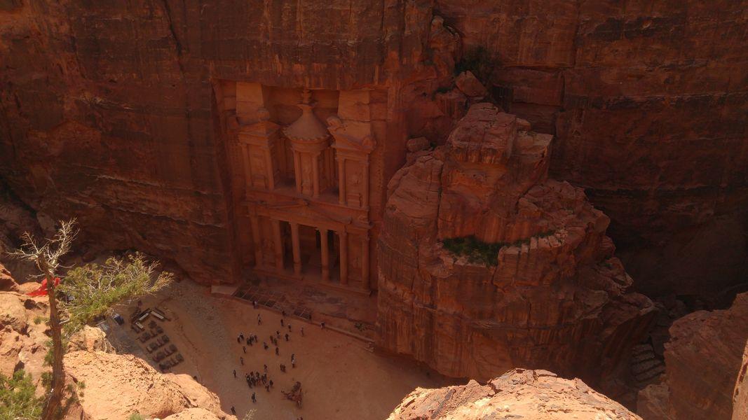 Po schodach razem z osłami, czyli Petra 7 cud świata