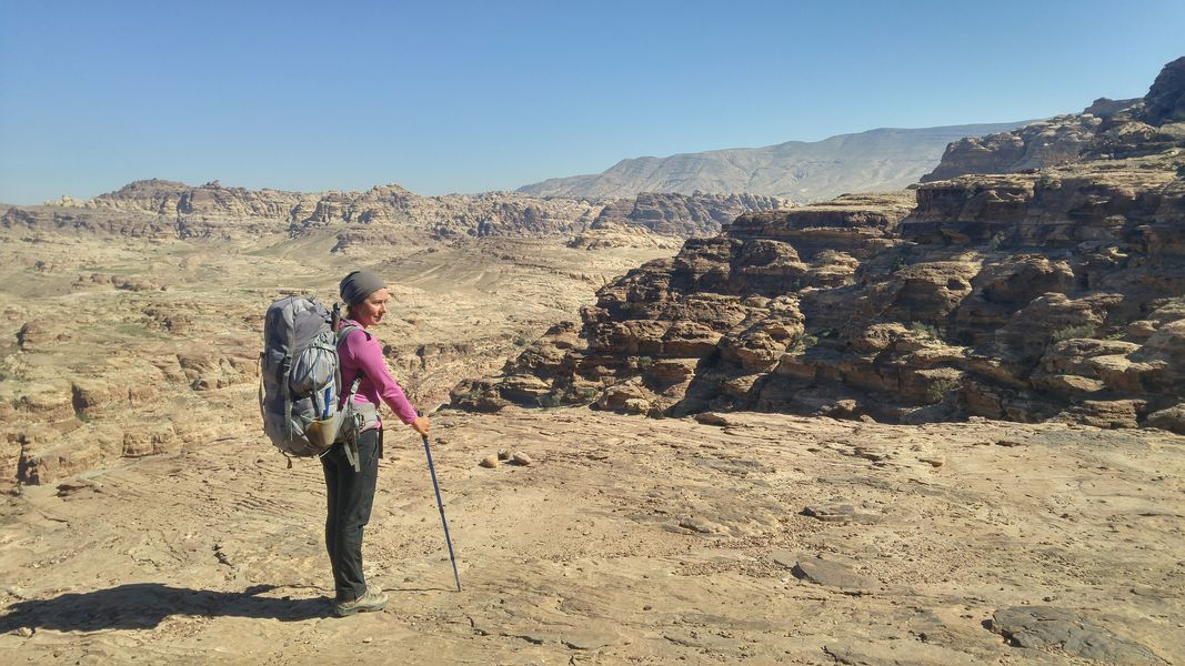 Szlak Jordański, Jordan Trail