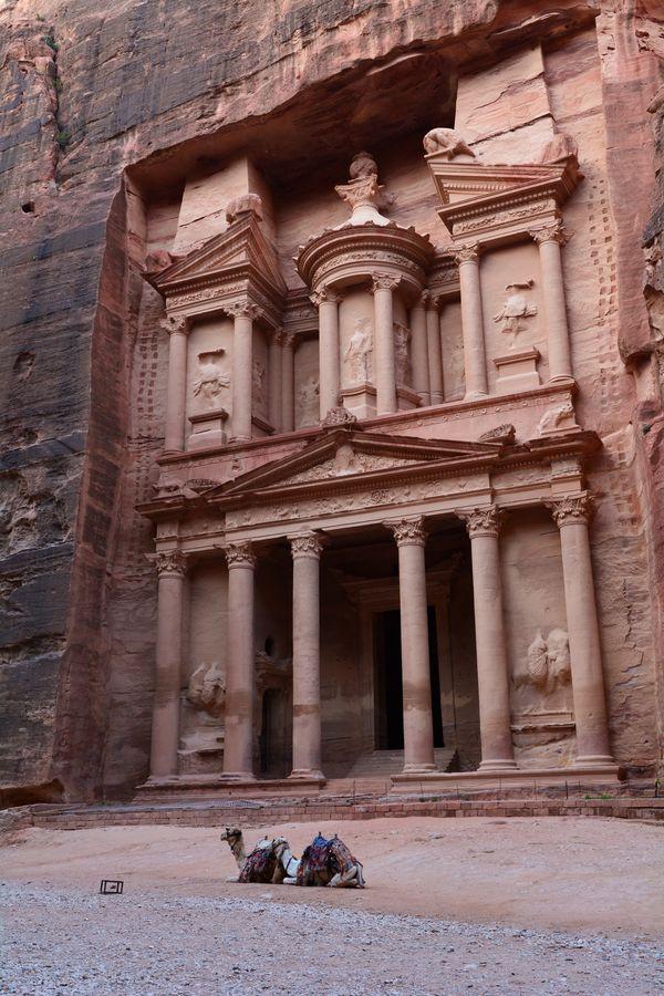Petra, Jordania, Skarbiec
