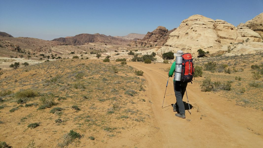 Szlak Jordański, Mała Petra, Jordania