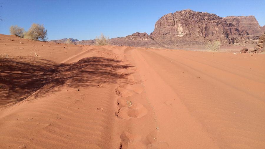 Wadi Rum, pustynia, szlaki